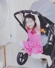 """소이현 딸 하은, 이 미소에 살살 녹는다..""""애교 눈웃음"""""""