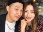 """""""턱선, 대박""""…스윙스♥임보라, 다이어트 성공 커플 인증샷"""
