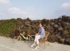 성유리, 자전거 女神...효리네 민박 놀러가시면 될 듯