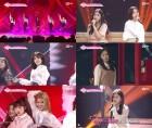 '프로듀스48' 베네핏 10만표에 역전 노린다! 두 번째 포지션 평가 이변 속출!