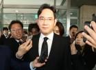 문재인 대통령 조화…이재용, 재계 첫 조문
