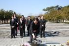 민주당 부산진구을 6.13 지방선거 예비후보들, 봉하마을 찾아 '승리 다짐'