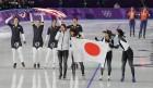 [2018 평창] 日 여자 팀추월의 금메달 비밀은 '특수 천장카메라'?