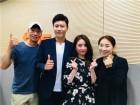 tbsFM '배칠수 전영미의 9595쇼' 트로트 샛별 진해성-설하윤 출연