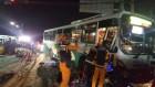경남 진주서 버스 등 차량 4대 사고…20명 경상