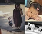 소유진, 백종원 닮은 딸과 행복한 일상…예쁜 母女