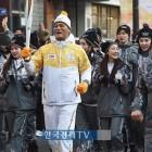 [포토]머슬마니아 윤혜주-이휘진-안인선 '평창 위해 뛰자!'