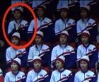 [리얼타임 평창] '실수?' 美 선수에 박수 친 北 응원단