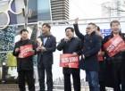 김기동 광진구청장 '지방분권 개헌 위한 버스킹'