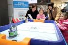 [포토]평창 동계올림픽 여운 로봇으로 체험