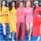 [엑's HD화보] '패션위크' 원색도 소화하는 女 스타 봄맞이 패션