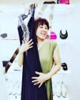 '29kg 감량' 홍지민, 홀쭉한 모습으로 드레스 자랑