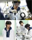 '1박2일' 정준영, 흰 가운 비주얼 포착…'뇌섹X허세' 과학자 변신