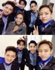 휘성·손호영·허영생·정대현·박정아, '올슉업' 대기실 셀카 공개
