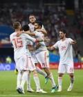 스페인, 이란 꺾었다…디에고 코스타 대회 3골째