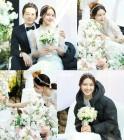 '밥차남' 최수영, 순백의 웨딩드레스 자태 '독보적 미모의 3월의 신부'