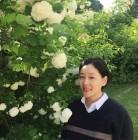 """""""수국 옆에서"""" 박진희, 만삭인데 꽃보다 예뻐?"""