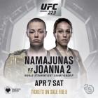 로즈 나마유나스 vs 요안나 예드제칙 확정···UFC 223에서 2차전