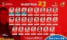 '우승 후보' 스페인, 월드컵 최종 23인 명단 발표...모라타 제외