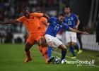 '수적 열세' 이탈리아, 네덜란드와 1-1 무승부
