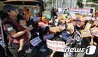 '꿈동산 유치원' 폐원 반대 집회… 임대 운영 10월 계약만료