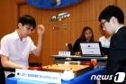 '한국 랭킹 1?2위' 박정환-신진서, 삼성화재배 8강 진출