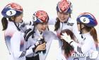 [올림픽] '명불허전' 쇼트트랙 女 계주 금메달… 여자 컬링 '5연승-4강' (종합)