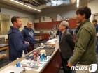 정운찬 KBO 총재, 美 애리조나 캠프 방문…스피드업 점검