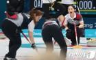 [올림픽] 여자 컬링, 덴마크 마저 꺾고 7연승…8승1패·예선 1위로 마무리
