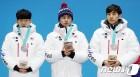 """[올림픽] 銅·銀 목에 건 김민석 """"다음엔 메달 색깔 바꿀게요"""""""