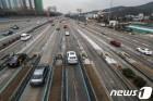 올림픽 마지막날 고속도로 소통 원활…오후부터 혼잡