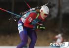 안나 프롤리나, 바이애슬론 월드컵 6위…한국 女 역대 최고 순위 달성