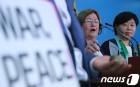 대인지뢰 위험성 알리는 노벨평화상 수상자 메어리드 맥과이어