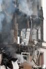 폭발사고로 폐허가 된 獨 부퍼탈 3층건물