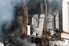 폭발사고로 아수라장된 獨 부퍼탈 건물