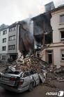 獨 부퍼탈 3층건물 폭발현장