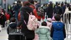 아쉬움ㆍ여운 뒤로하고 귀경…이시각 서울역