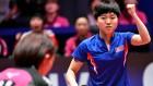 27년만의 탁구 단일팀, 일본에 석패…동메달