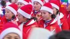 20일간 '열띤 응원' 뒤로하고…북 응원단, 아쉬운 작별