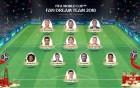 모드리치, 캉테, 더 브라위너 등 인벤 유저 선정 러시아 월드컵 Best11 발표
