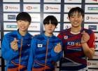 '겁없는 10대들' 여자 단체 캐나다 꺾고 4강 진출, 동메달 확보