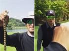 박찬호, 이승엽과 골프 치다가 뱀 맨손으로 '덥석'