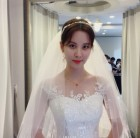 """""""단아한 미모"""" 서현, 웨딩드레스 입고 우아한 자태 뽐내"""