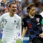프랑스-크로아티아, 결승전 선발 발표…그리즈만vs모드리치