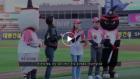 kt wiz, 최초의 여성 루지 국가대표 성은령 선수 시구