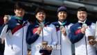 [평창 라이브]봅슬레이 4인승, '2인승 아픔' 딛고 메달로 활짝 웃다