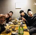 [★SNS] 전현무♥한혜진, 취기 오른 박나래...'나혼자산다' 회식 공개