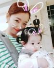 "[★SNS] 소이현, 둘째 딸과 함께 행복한 일상 ""우리 작은 토끼"""