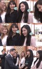 레드벨벳 아이린, 문재인 대통령 바라보며 '꿀 떨어지는 미소'