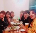 허안나, 신년회 사진 공개 '미녀 개그우먼들의 수다'